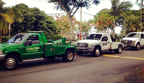 Towing | Almeida & Sons Auto & Towing | Kaneohe, HI | (808) 221-3792